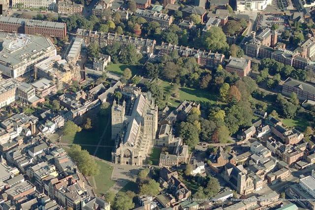 La cathédrale d'Exeter