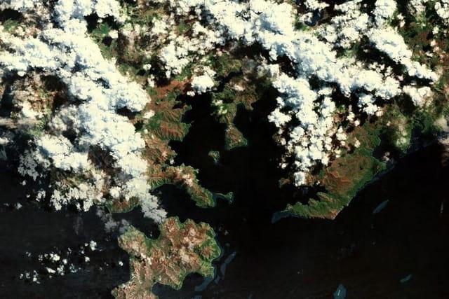 La baie de Prony et l'ilôt Casy