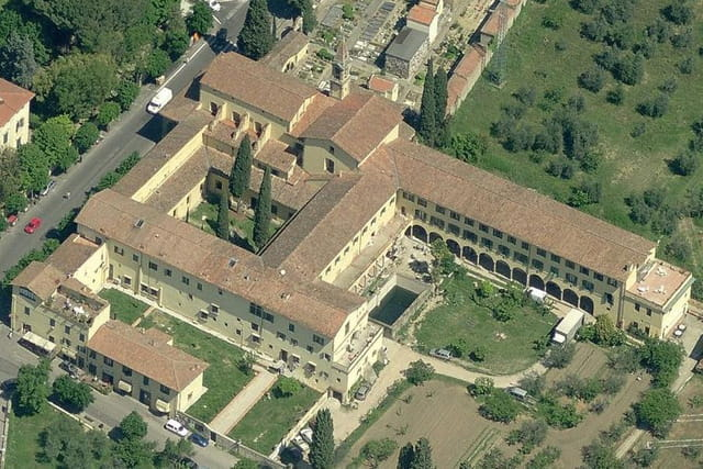 Le couvent San Domenico de Fiesole