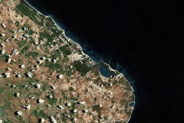 La côte des Cocotiers