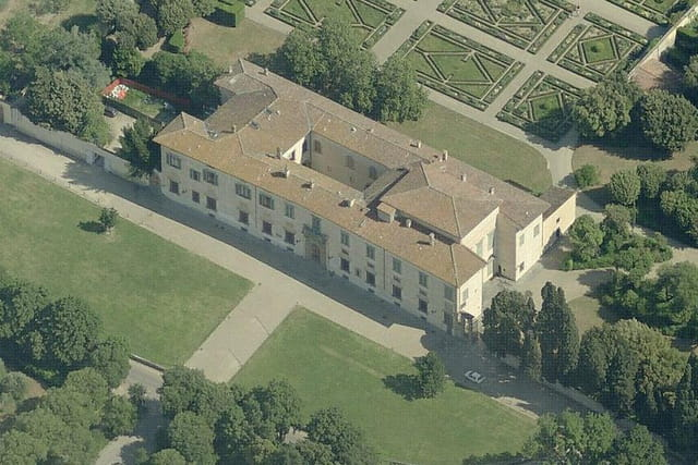 La villa médicéenne de Castello