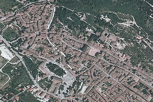 La vieille ville de Gubbio