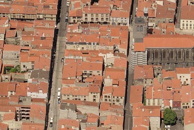 Quartier du vieux Montferrand à Clermont-Ferrand