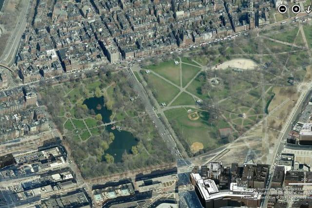 Le jardin botanique de Boston