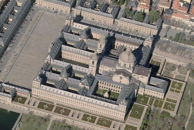 La basilique du monastère de l'Escurial