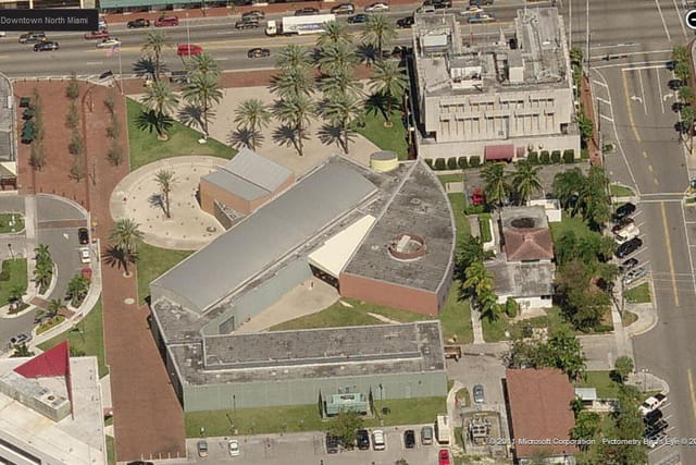 Le musée d'art contemporain de North Miami