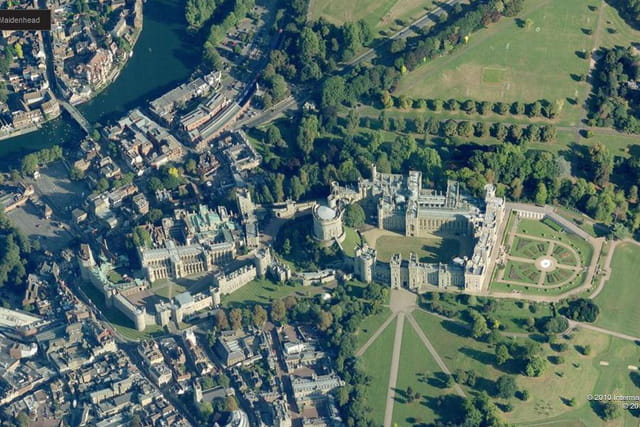 Les appartements d'apparat du château de Windsor