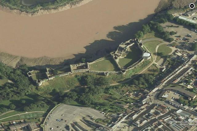 Le château de Chepstow