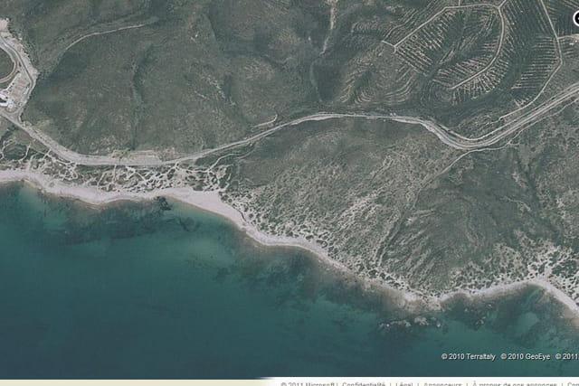 La plage de la Costa Verde