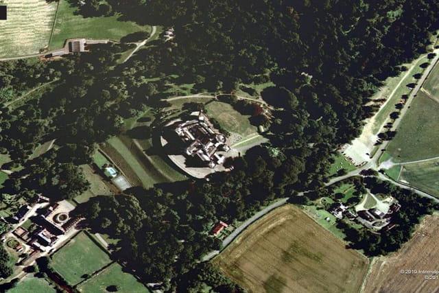 Le château de Belvoir