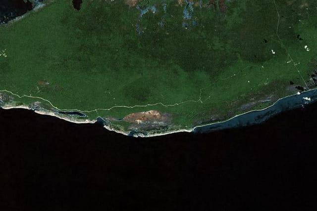 La grotte de la réserve naturelle du littoral méridional