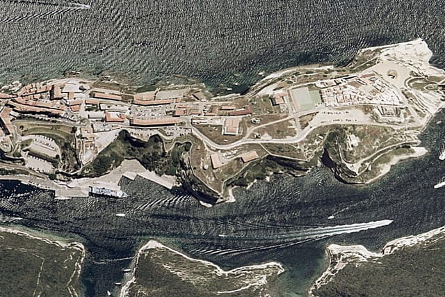 Le Bastion de l'Etendard de Bonifacio