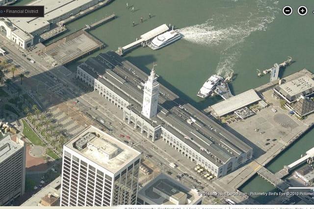 La galerie commerçante Ferry Building