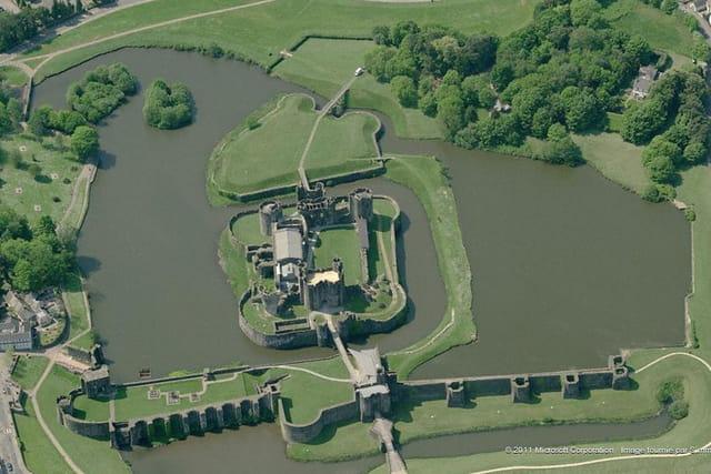 Le château de Caerphilly