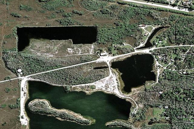Le parc de la réserve de Fakahatchee Strand