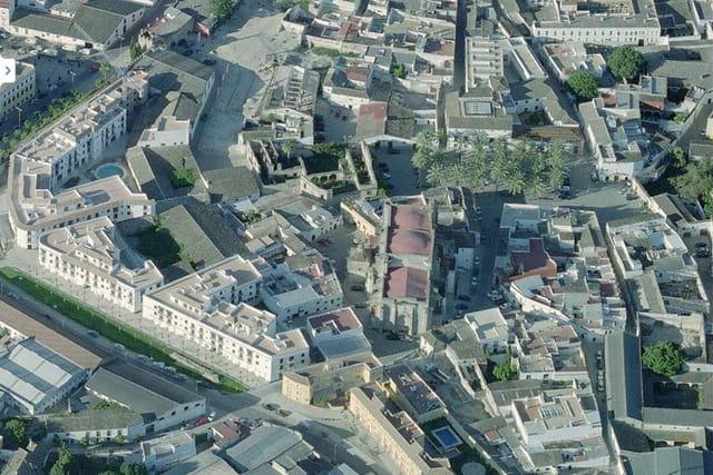Le quartier historique de Jerez de la Frontera