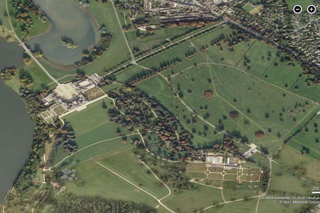 Le parc de Blenheim