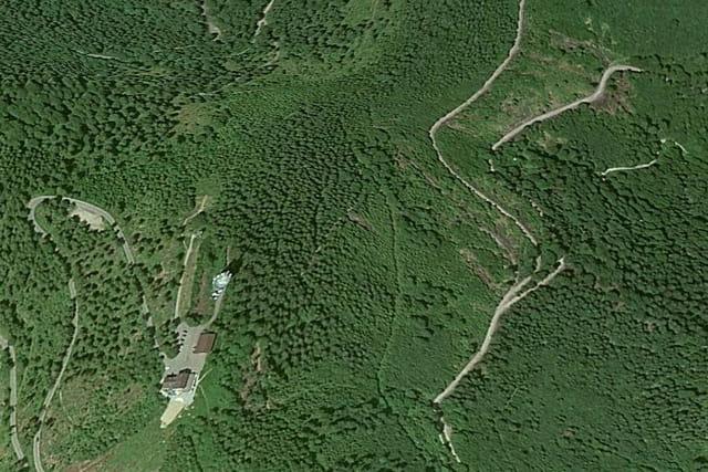 Le mont Blauen