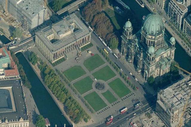 Le palais de la République