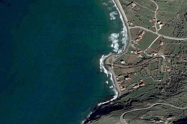 La baie de Kaspakas
