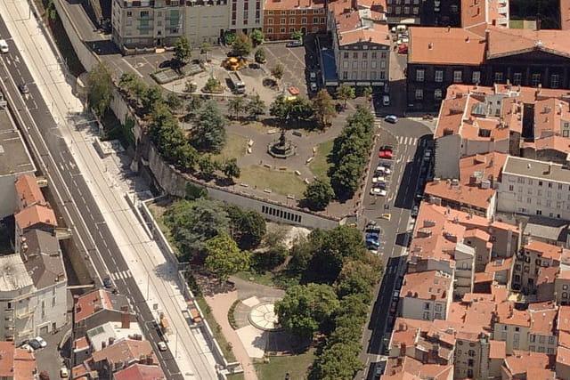 Fontaine d'Amboise à Clermont-Ferrand