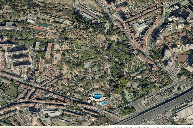 Le parc d'Alvito