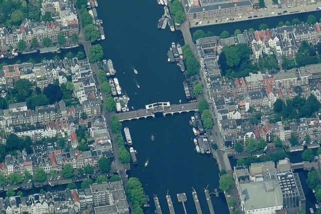 Pont De Magere Brug d'Amsterdam