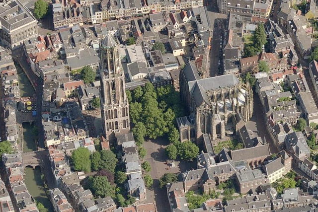 L'église Saint-Pierre d'Utrecht
