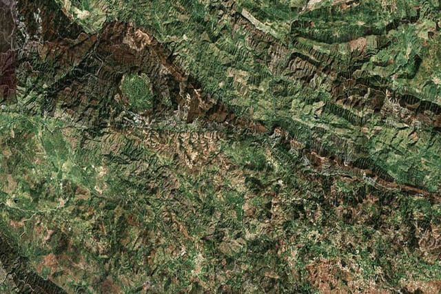 Le parc naturel de la Sierra d'Aracena et des Pics d'Aroche