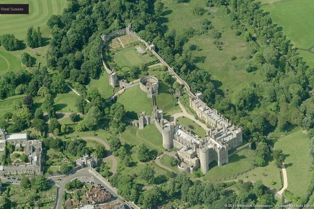 Le château d'Arundel