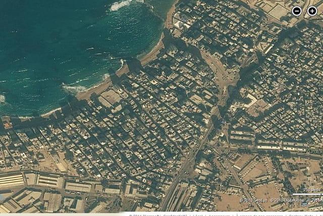 Le centre-ville d'Alexandrie