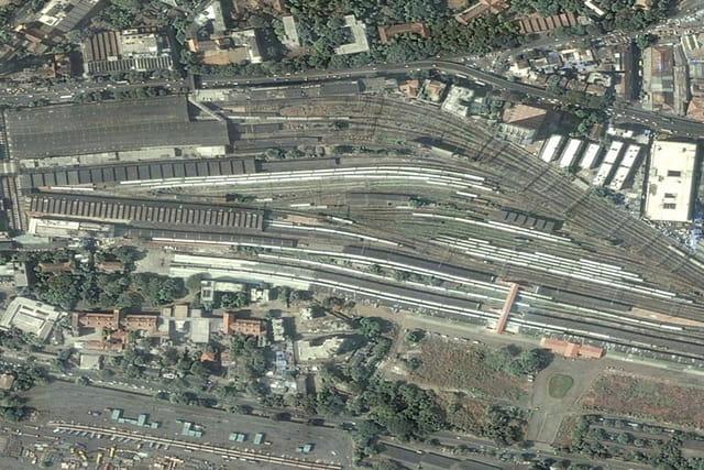 Victoria Station de Bombay