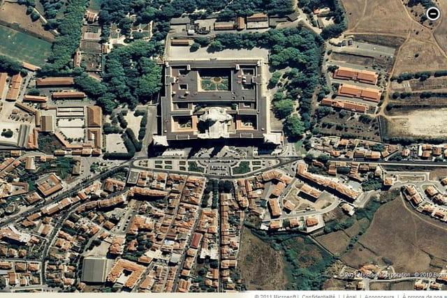 Le palais et le couvent de Mafra