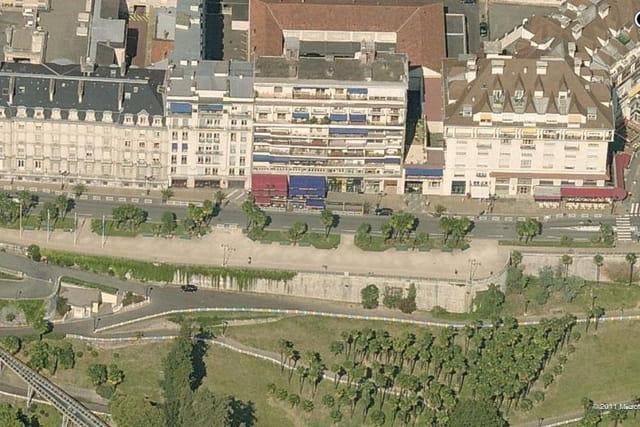 Le boulevard des Pyrénées de Pau