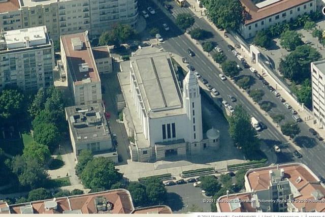 L'église Nossa Senhora de Fátima