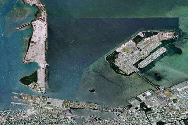 La barrière de corail de Key Largo