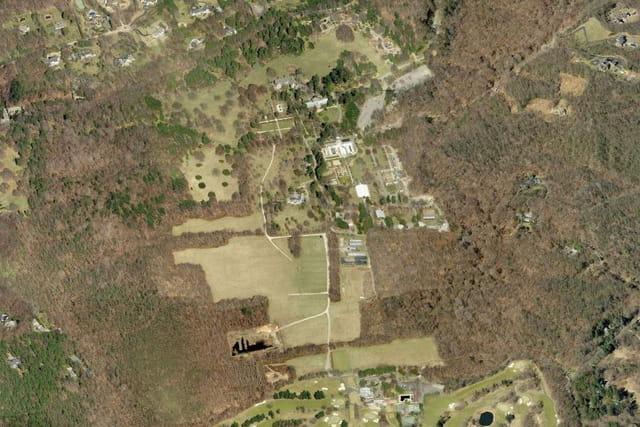 Le site et arboretum des Planting Fields