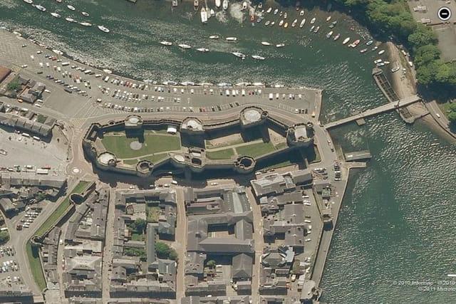 Le château de Caernarfon