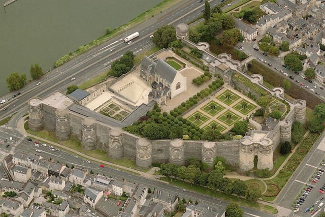 La forteresse d'Angers